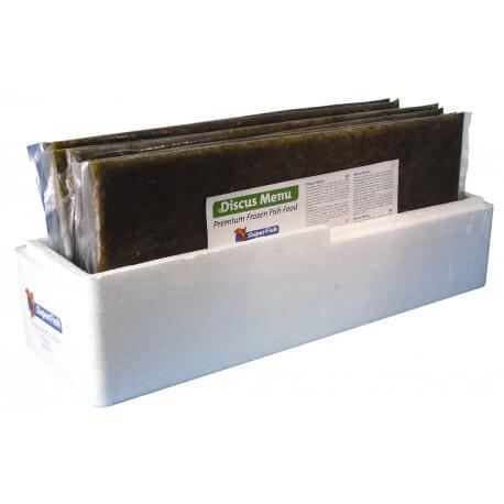 Artemia-frozen flat plate in zipper bag 5kg, bulk