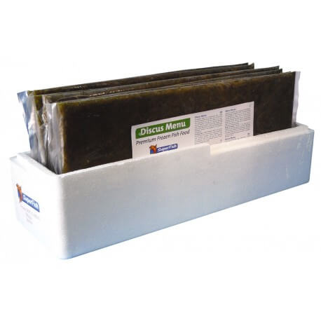 Artemia-frozen flat plate in zipper bag 15x1000g